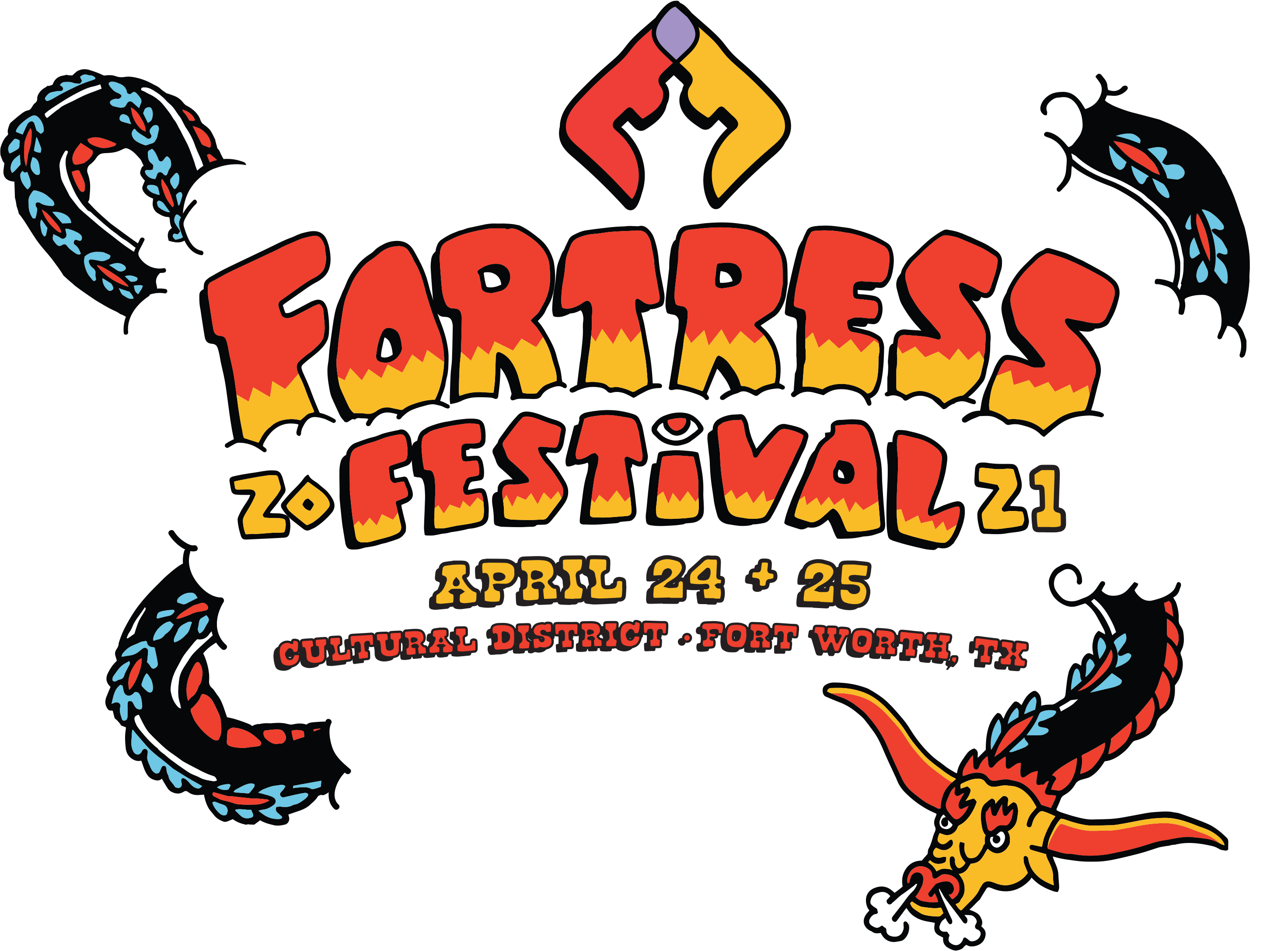 Fortress Festival – April 24 and 25, 2021 – Cultural District – Ft. Worth, TX